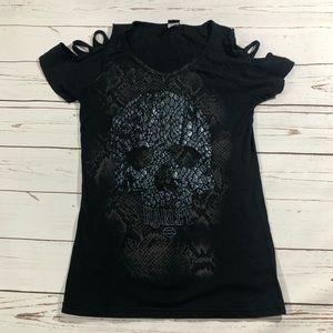 Harley Davidson Skull T Shirt